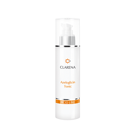 Tonic with acids for problematic skin