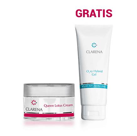 Queen Lotus Cream + O2xy Hybrid Gel