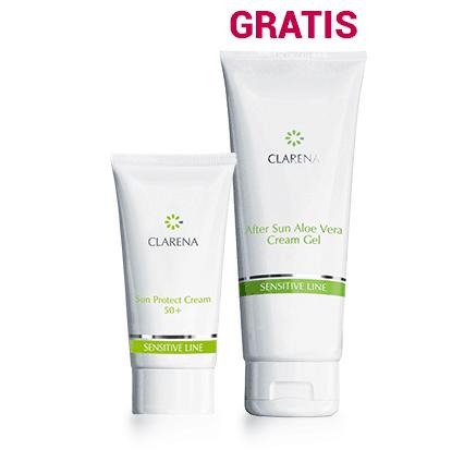 After Sun Aloe Vera Cream-Gel + Sun Protect Cream SPF 50+