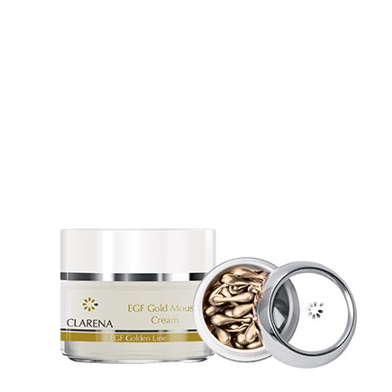 EGF Gold Mousse Cream + Gold Pearls