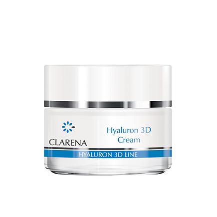 Ultra-nawilżający krem z 3 rodzajami kwasu hialuronowego