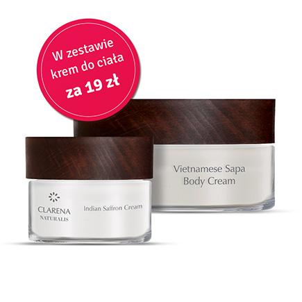 Indian Saffron Cream + Vietnamese Sapa Body Cream 100ml