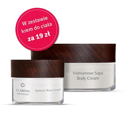 Japanese Rose Cream + Vietnamese Sapa Body Cream 100ml